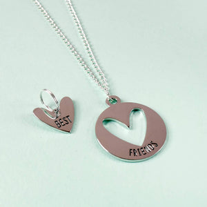 Pet & Human Best Friends Necklace & Pet Charm Set - Funky Cat Emporium