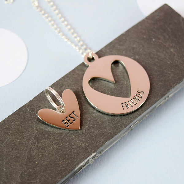 pet & human best friends necklace & charm set - Funky Cat Emporium