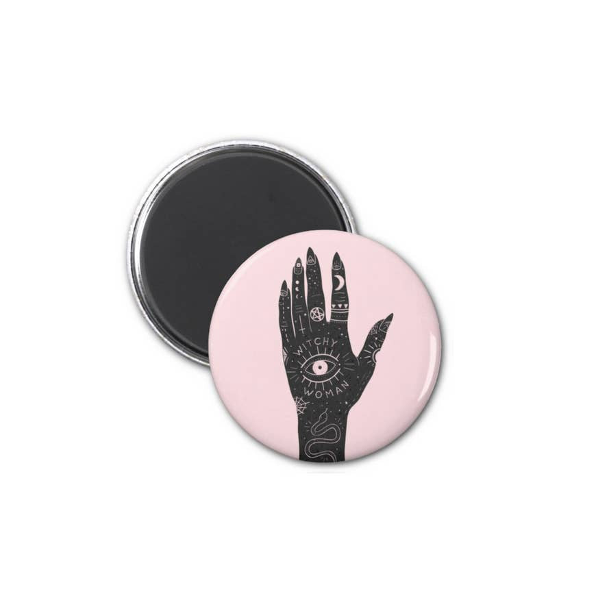 Witchy Woman Magnet - Funky Cat Emporium