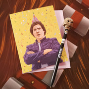 Han Solo Party Birthday Card