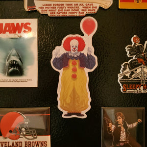 pennywise and balloon 1990 magnet - Funky Cat Emporium