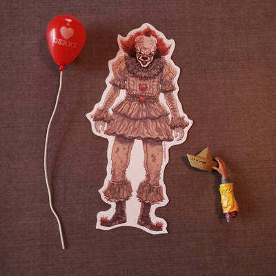 Pennywise the Dancing Clown 2017 Vinyl Sticker