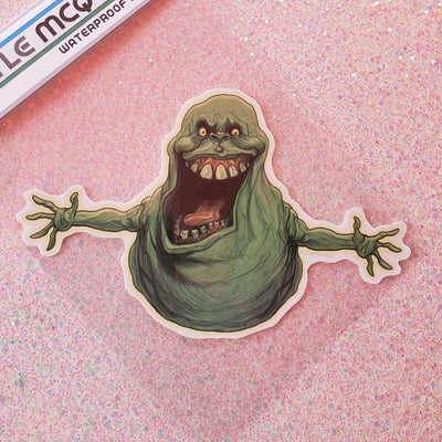 Slimer Vinyl Sticker