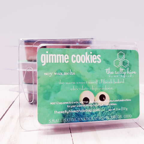 gimme cookies - cookie monster inspired wax melts