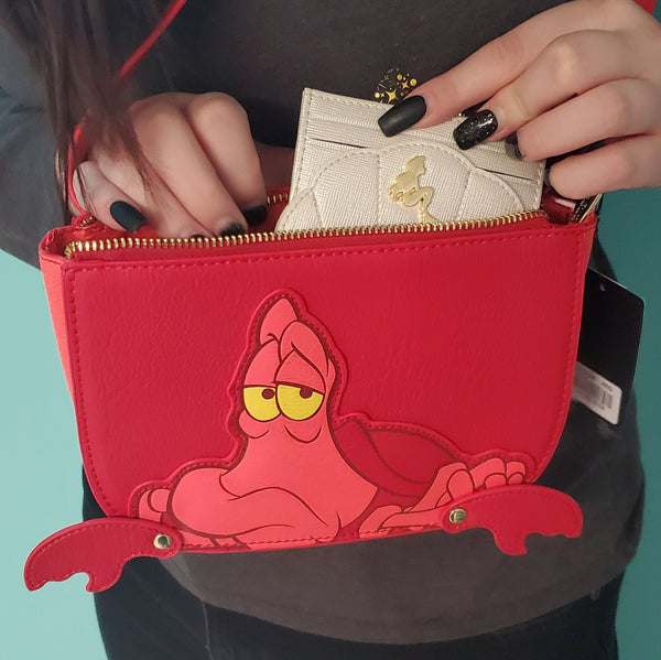 disney the little mermaid shell card holder
