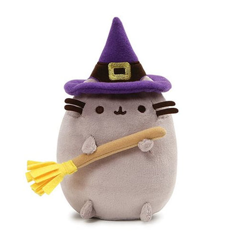 pusheen halloween witch plush