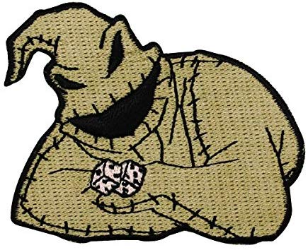 nightmare before christmas oogie boogie dice patch