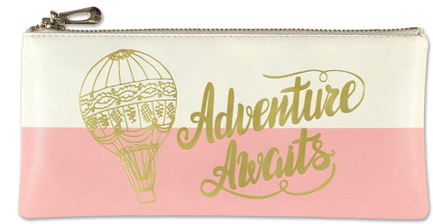 adventure awaits pouch - Funky Cat Emporium