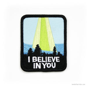 i believe in you patch - Funky Cat Emporium