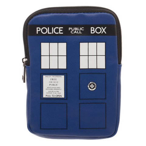 doctor who tardis coin pouch