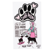 Stay at Home Dog Mom Patch - Funky Cat Emporium