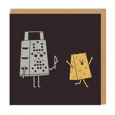 Cheesy Friday the 13th Card