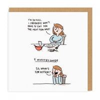 Always Room for Dessert Card - Funky Cat Emporium