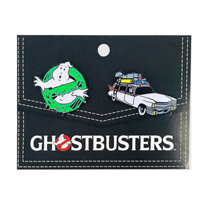 ghostbusters enamel pin set - Funky Cat Emporium