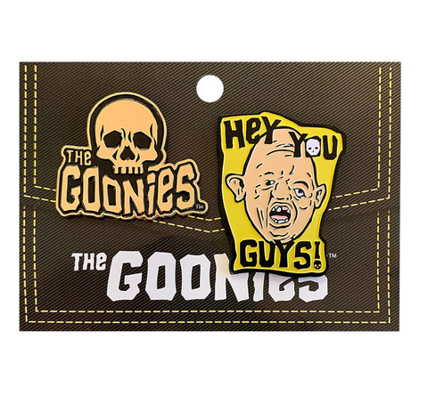 the goonies enamel pin set - Funky Cat Emporium