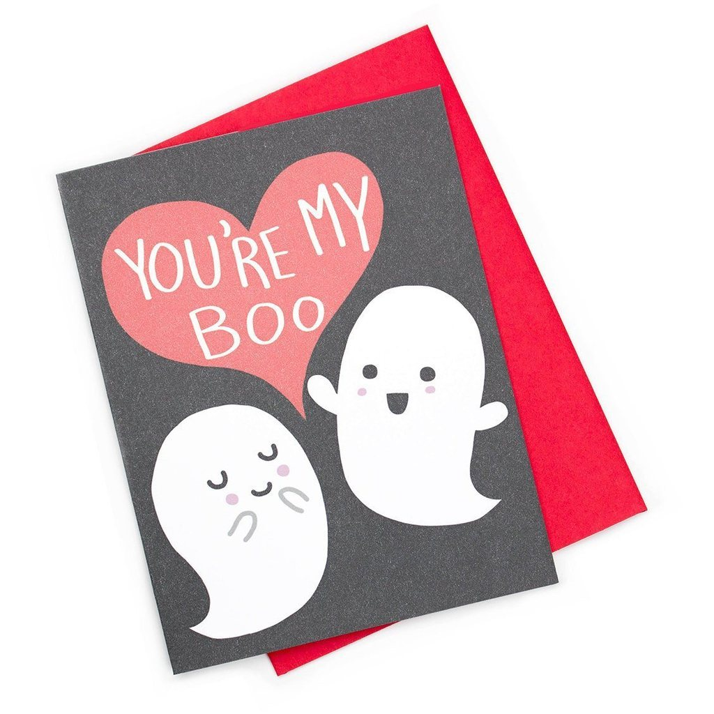 you're my boo card - Funky Cat Emporium