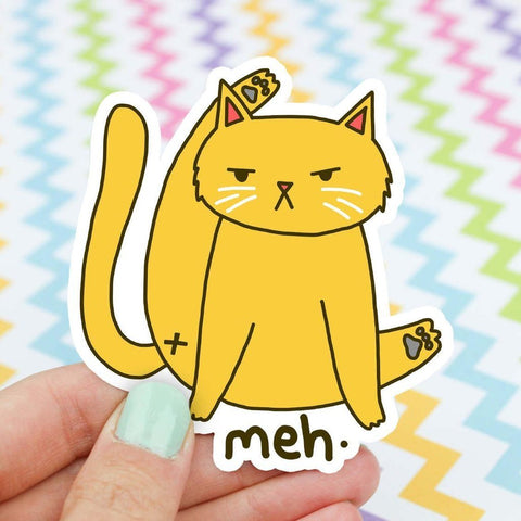 cat butt vinyl sticker - Funky Cat Emporium