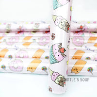 • Sweet Treats Cat • Wrapping Paper •