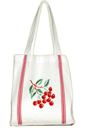 Retro Cherry Daily Tote