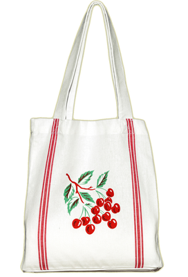 Retro Cherry Daily Tote - Funky Cat Emporium