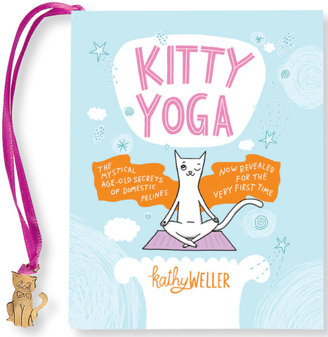 kitty yoga desktop book - Funky Cat Emporium