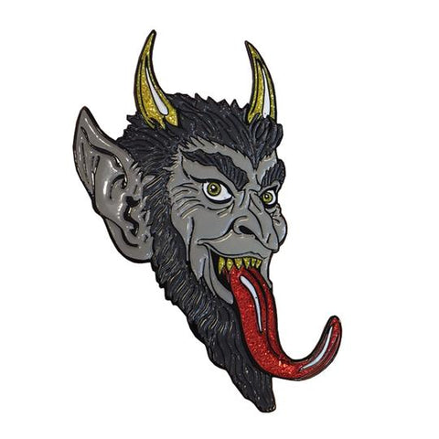 krampus enamel pin - Funky Cat Emporium