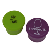• I Earned It • Me Time • Wine Stoppers •