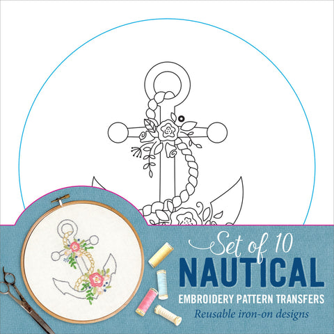 nautical embroidery patterns
