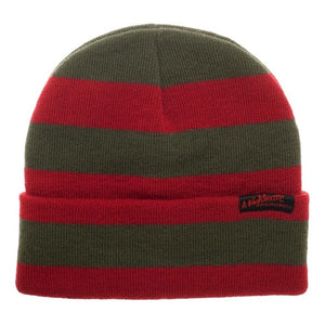 nightmare on elm street freddy's sweater beanie