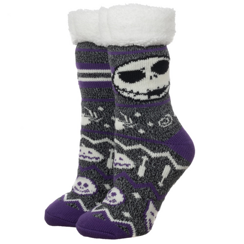 nightmare before christmas cozy slipper socks