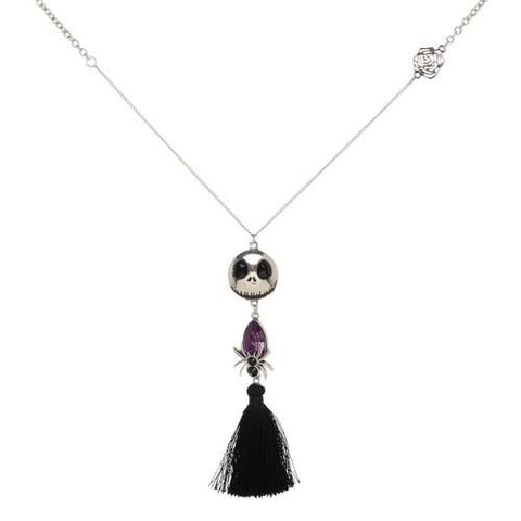 nightmare before christmas jack fringe pendant necklace