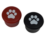 • Red & Black Paw Prints • Wine Stoppers •