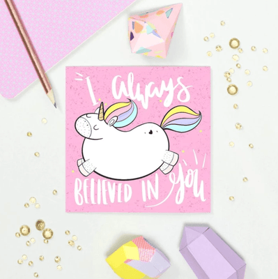 Always Believed in You Card - Funky Cat Emporium