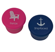 • Relax • Shipfaced • Wine Stoppers •