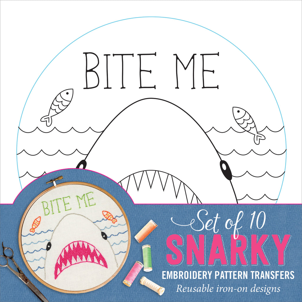 Snarky and Smart-ass Embroidery Patterns - Funky Cat Emporium