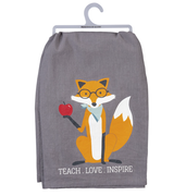 Teach Love Inspire Tea Towel - Funky Cat Emporium