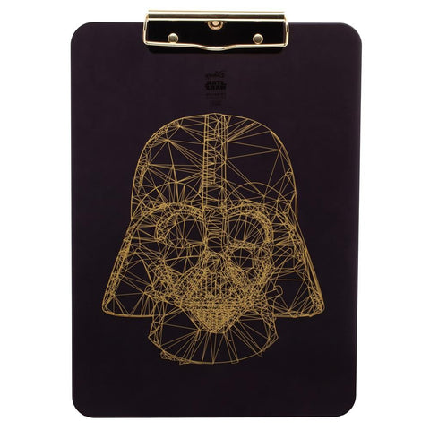 gold darth vader clipboard