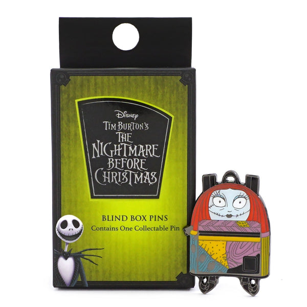 nightmare before christmas blind pin box