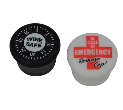 • Wine Safe • In Case of Emergency • Wine Stoppers •