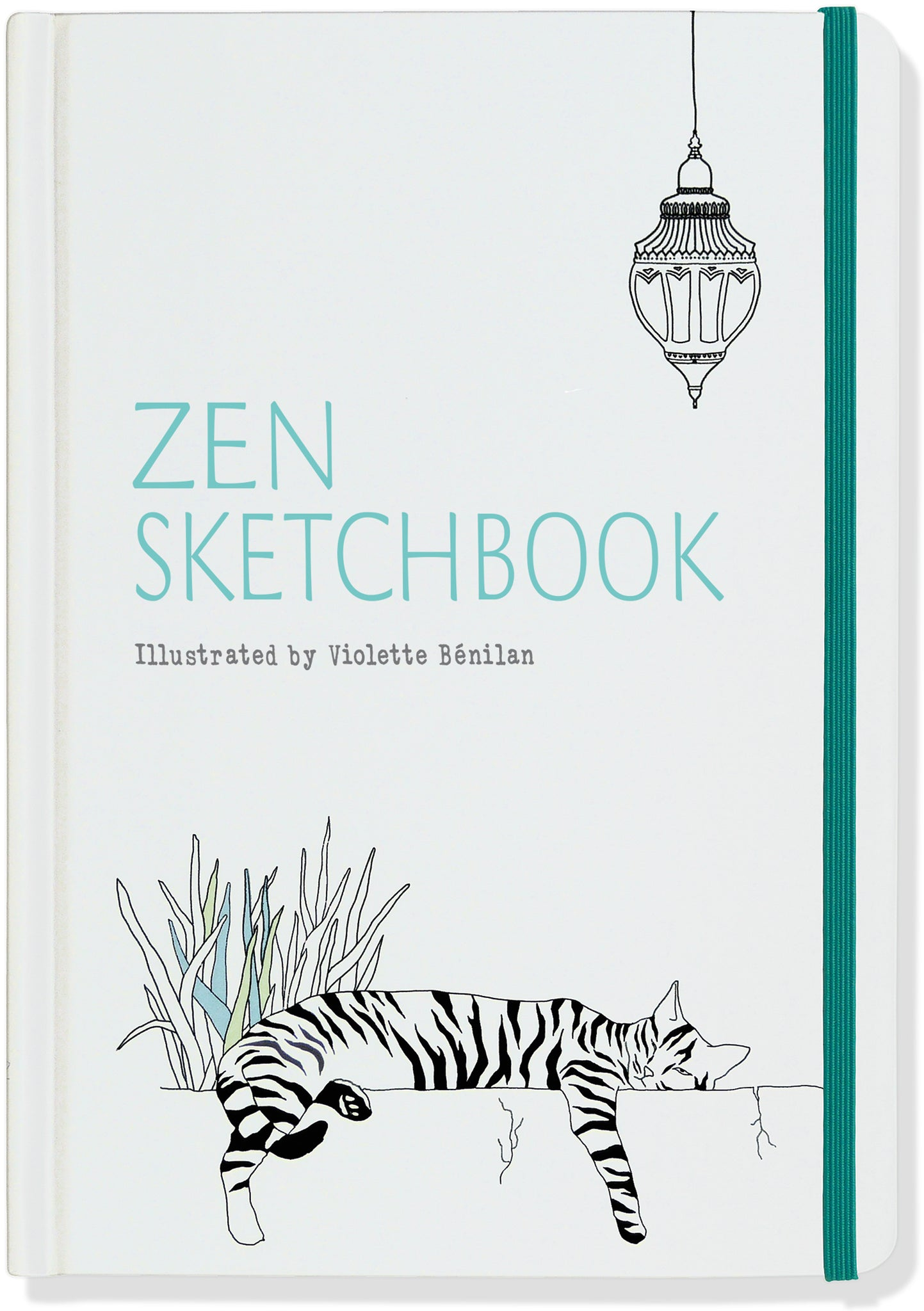 zen sketchbook & notebook - Funky Cat Emporium