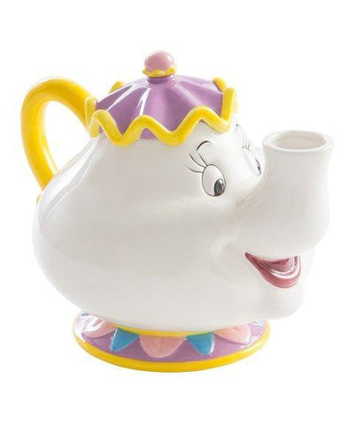 beauty and the beast mrs. potts teapot