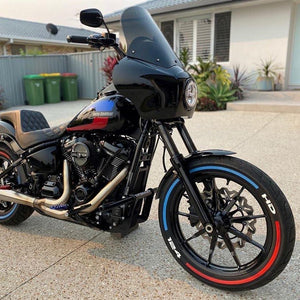 TWISTD CRASH BAR M8 STREETBOB, LOWRIDER, LOWRIDER-S