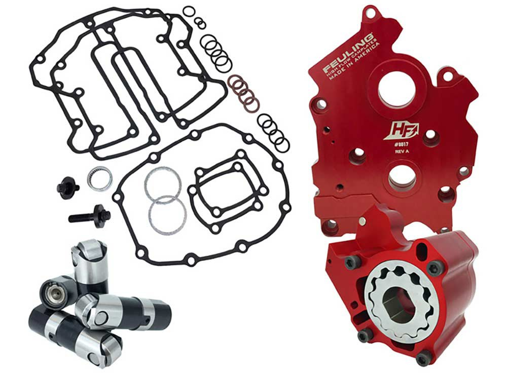 Race Series Oil System. Fits Milwaukee-Eight 2017up with Water Cooled Engine