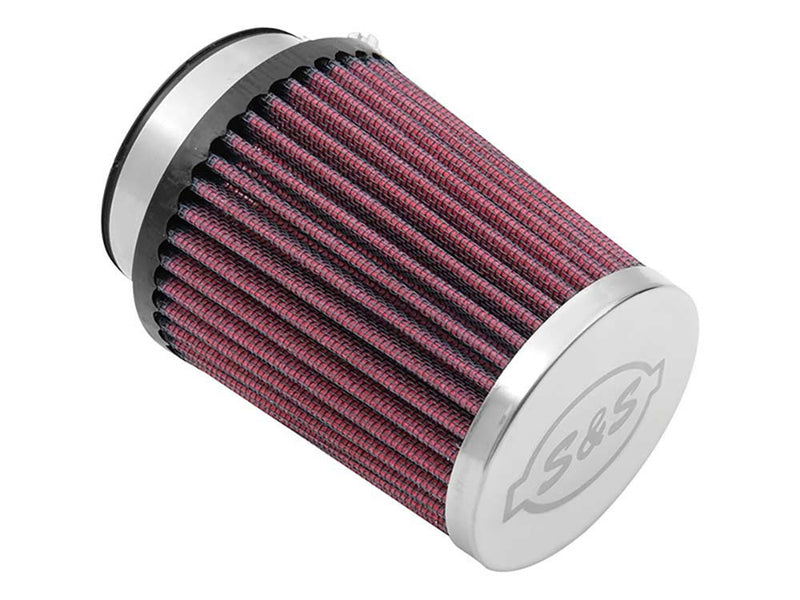 Air Filter Element – Red. Fits S&S Tuned Induction System.