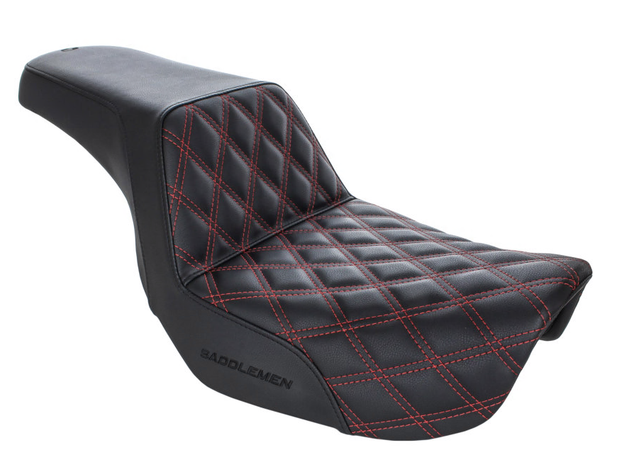 SADDLEMEN STEP UP 06-17 DYNA RED LATTICE