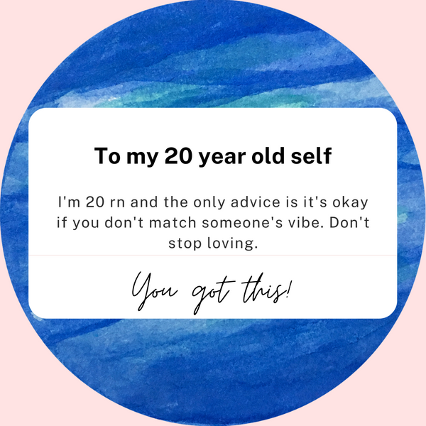 Advice to my 20-year-old self