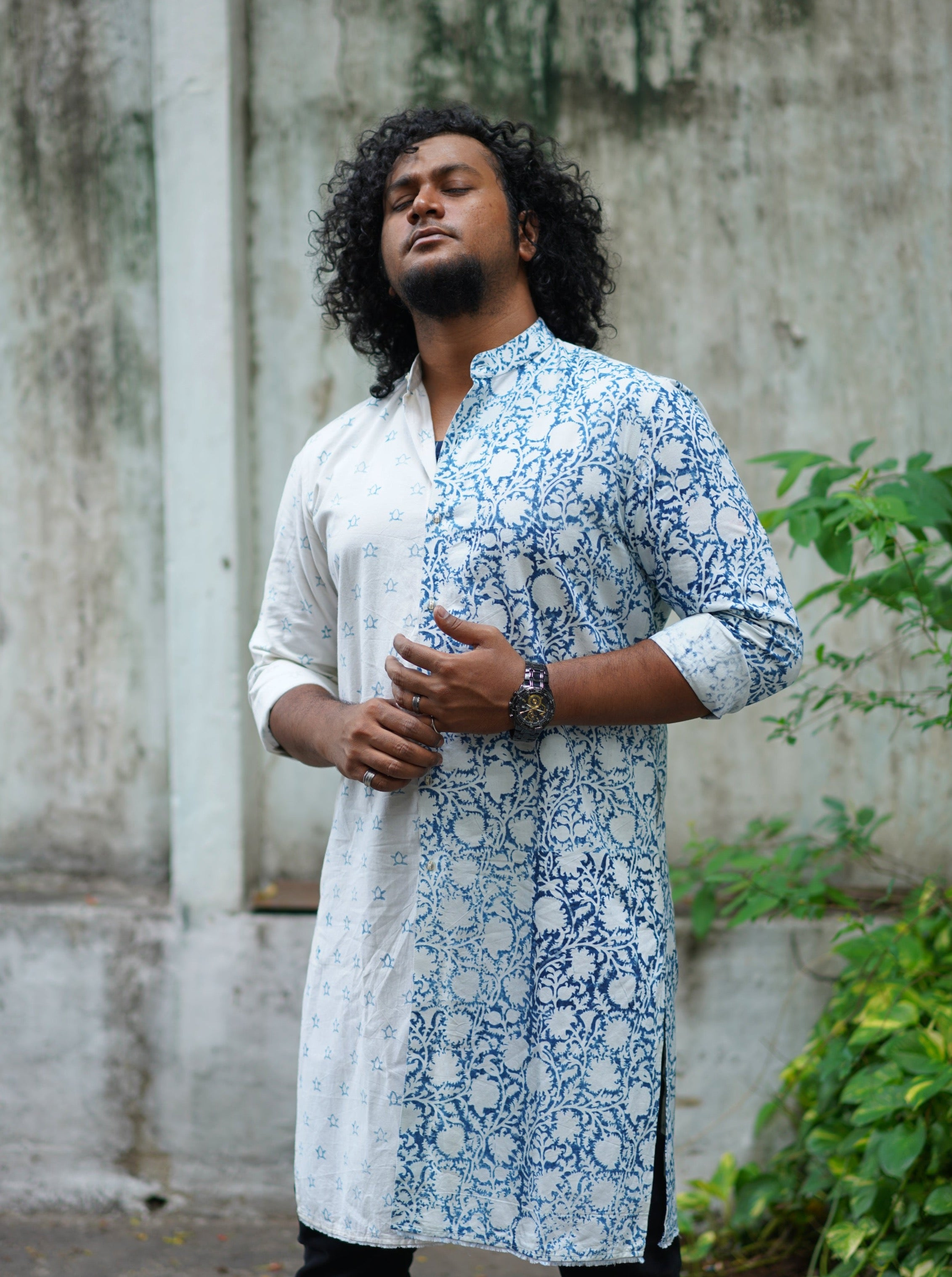 Yin and Yang Kurta