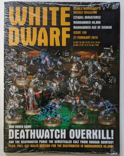 White Dwarf Weekly Issue 109 27 February 2016