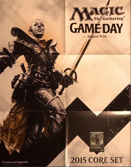 "2015 Core Set Game Day Reclamation Sage Poster 28"" x 22"""