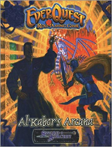 Al'Kabor's Arcana Everquest Roleplaying Game Sword & Sorcery